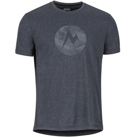 Marmot M's Transporter SS Tee New Black Heather
